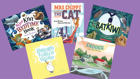 Book Reviews: New in Aotearoa Picture books