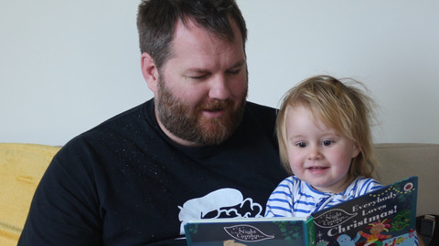 Craig Sisterson and the books his kid is reading