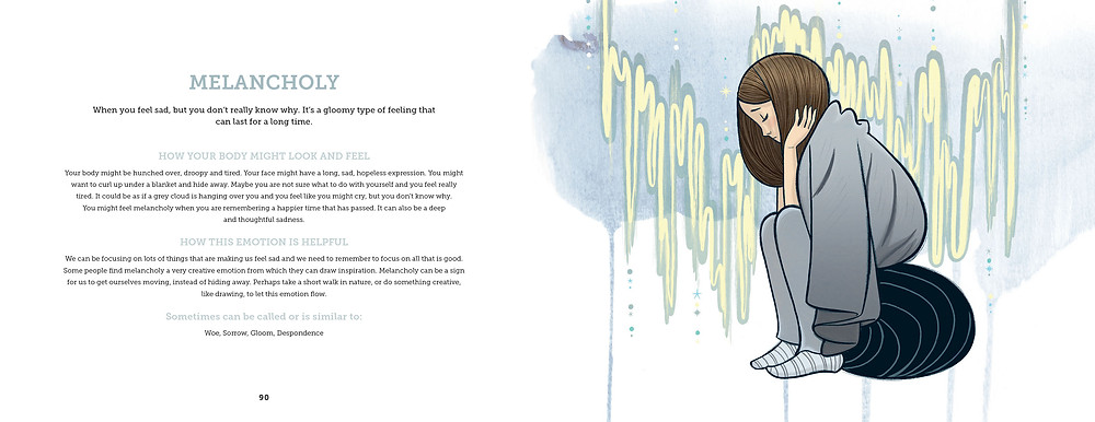 Spread from How Do I Feel? by Rebekah Lipp and Craig Phillips