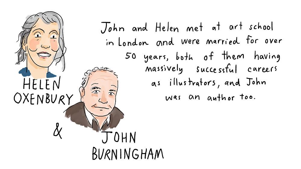 helen oxenbury and john burningham
