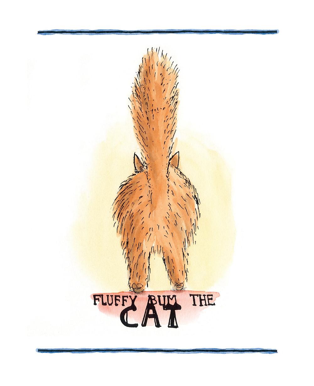 fluffybum the cat copyright Spike milligan