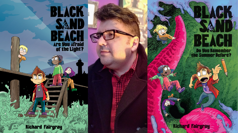 Black Sand Beaches and Scary Stories: Richard Fairgray