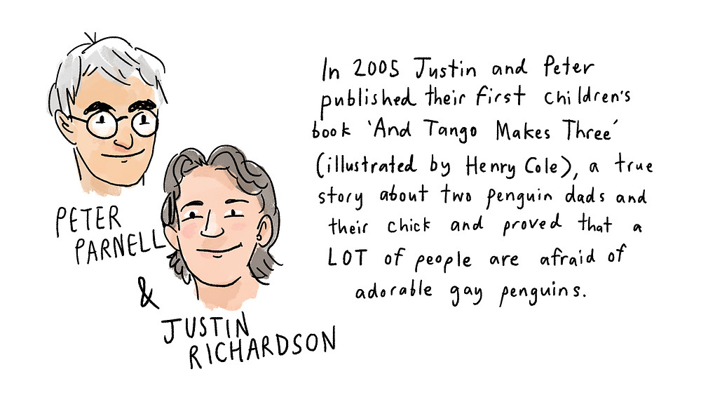 peter parnell and justin richardson