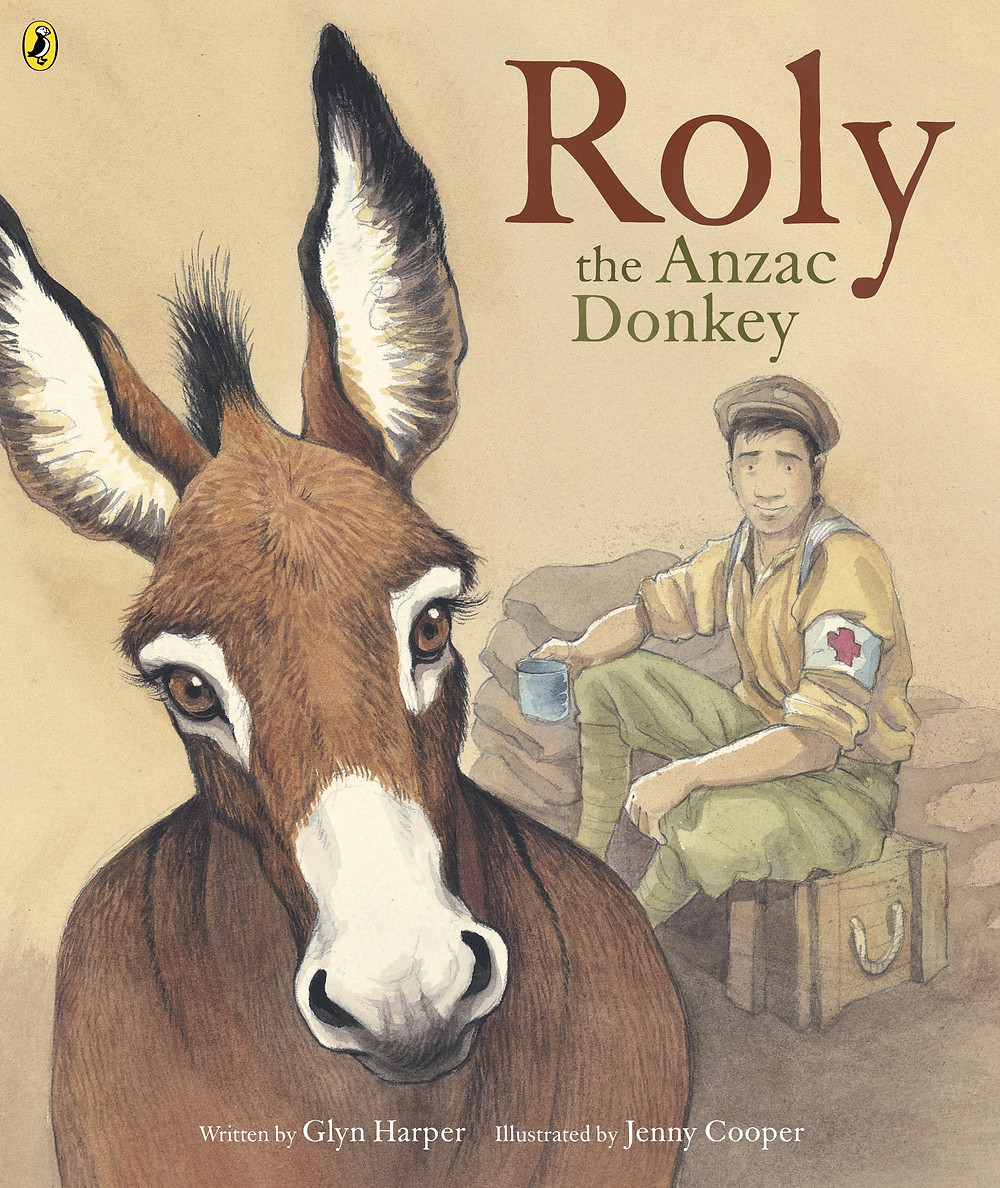 roly the anzac donkey cover