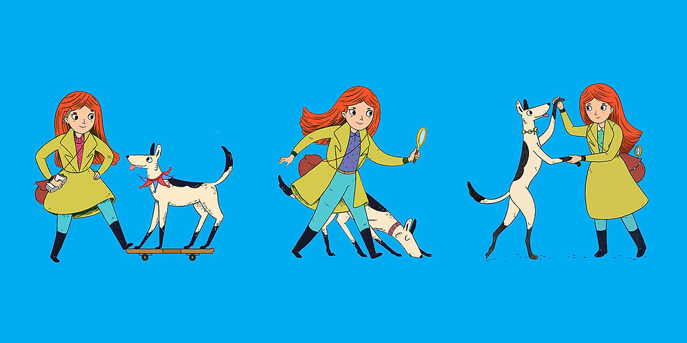 Frankie Potts and Sparkplug, illustrated by Phoebe Morris