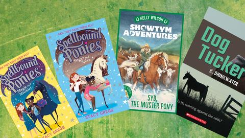 Book Reviews: Junior Fiction Pony Tales