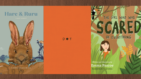 A trio of recent books to help anxious kids