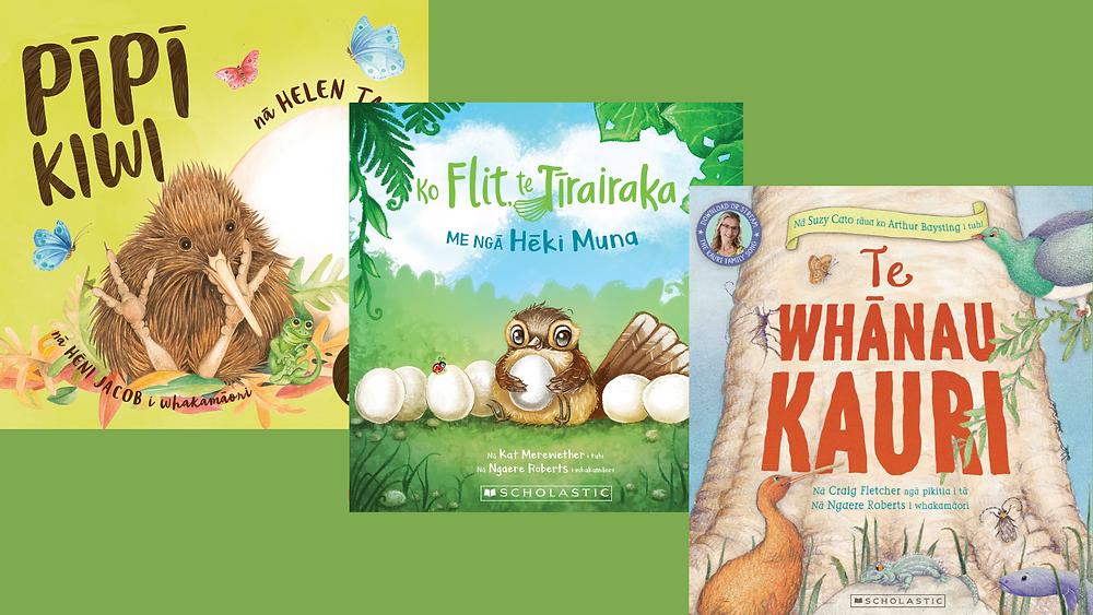 header reo maori books