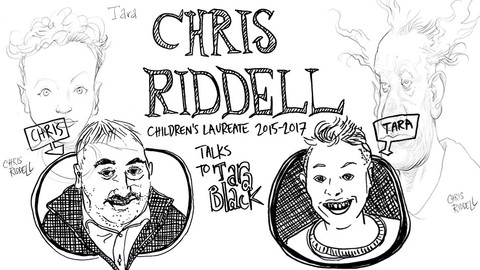 Tara Black and Chris Riddell: A Drawing Date