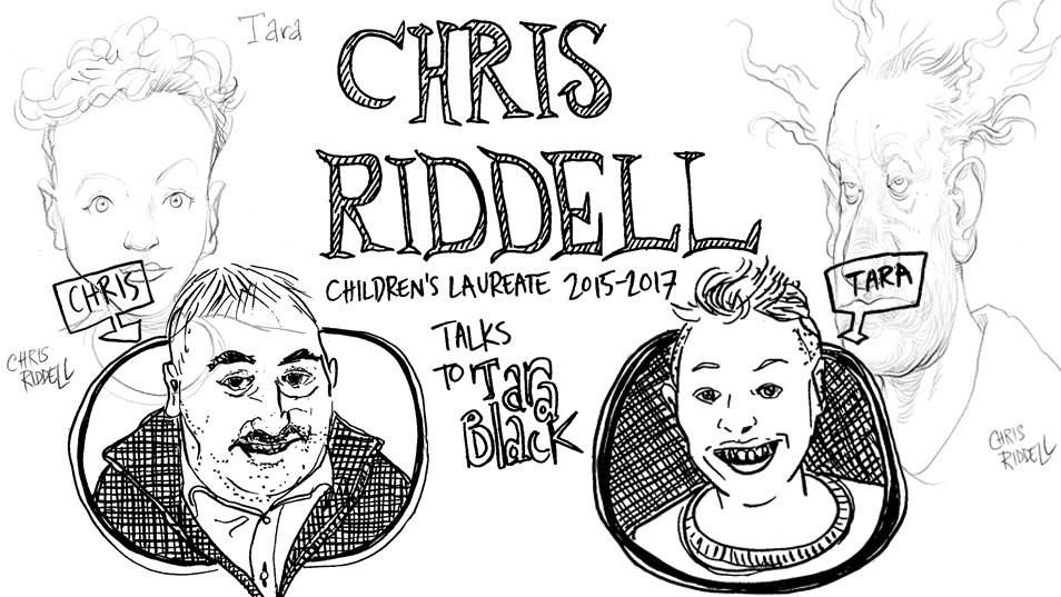chris riddell children's laureate 2015 - 2017