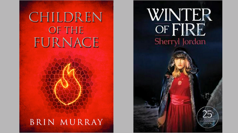 Book Reviews: YA fantasy that burns bright