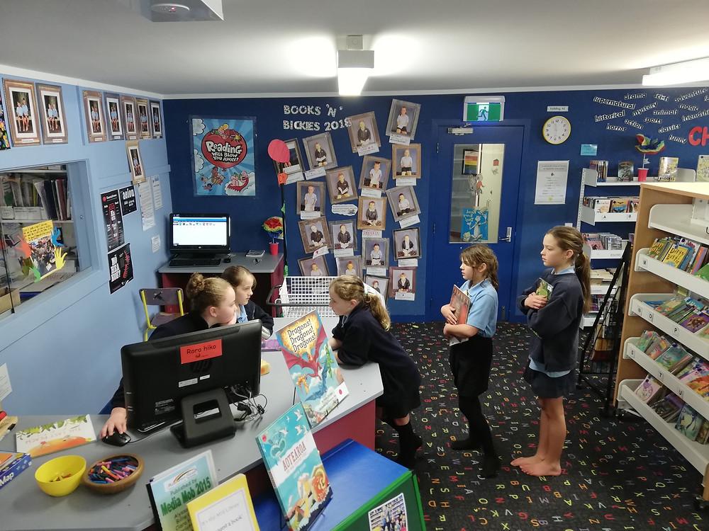 southland boys high school library