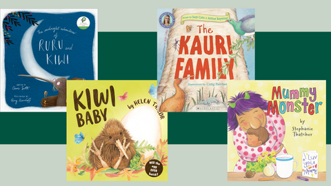 Book Reviews: Kiwi and a monster mum