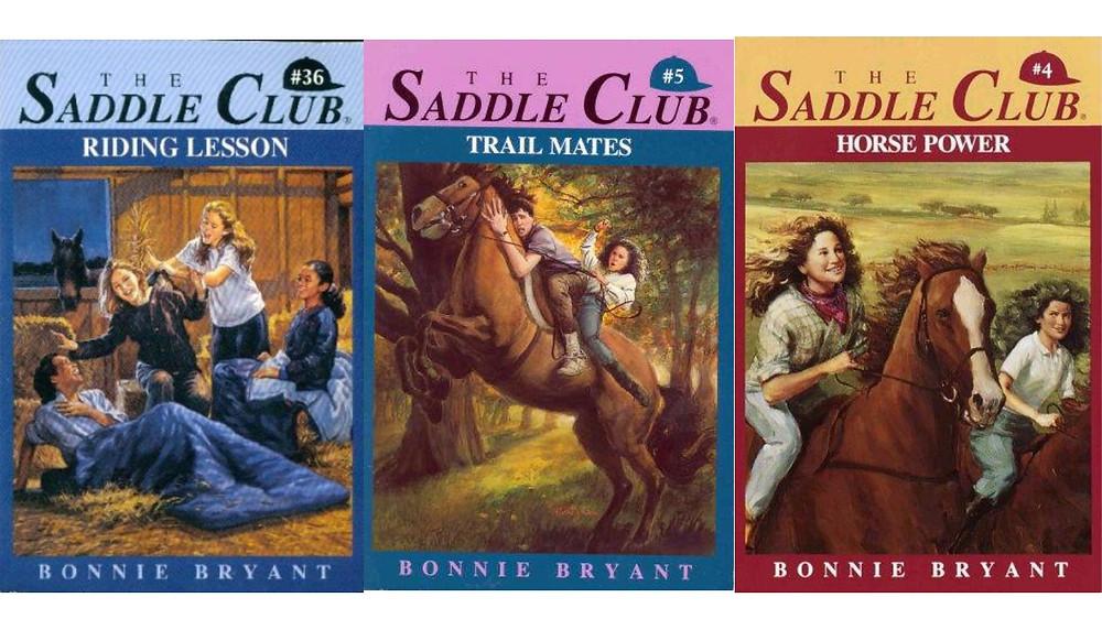 Saddle Club book covers