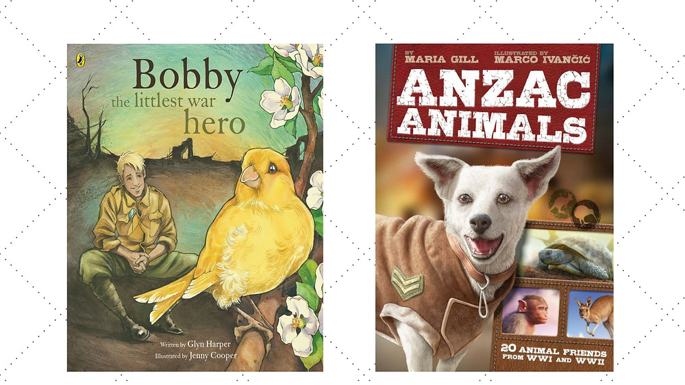 bobby and anzac animals