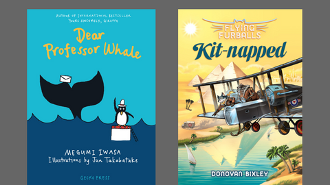 Reviews: Two New Junior Fiction Titles