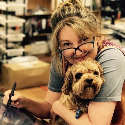 Ruth Paul & doggy