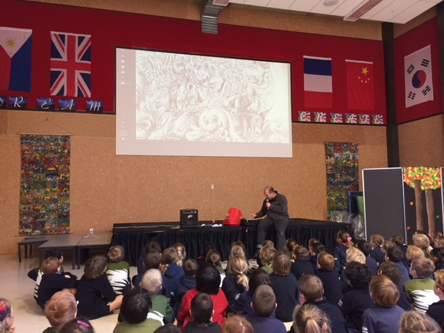 bruce potter at Remarkables Primary School