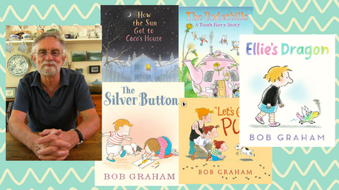 Across the Ditch: Bob Graham talks storytelling