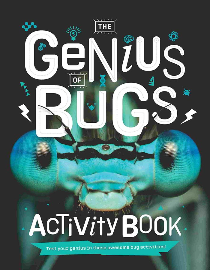 cover of the genius of bugs activity book