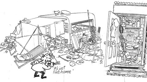 Illustrating new kiwi tale The Longdrop