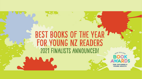 The finalists of the 2021 NZ kids' book awards are...