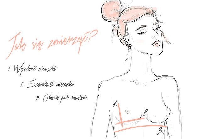jak się zmierzyć charlotte rouge miękka bielizna