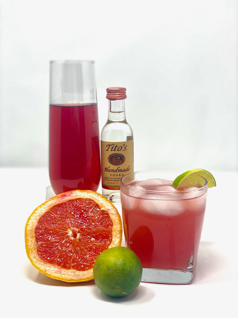 Grapefruit Lime Cocktail