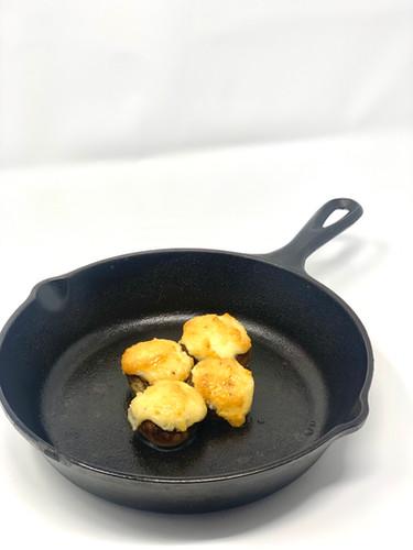 Parmesan Stuffed Mushroom