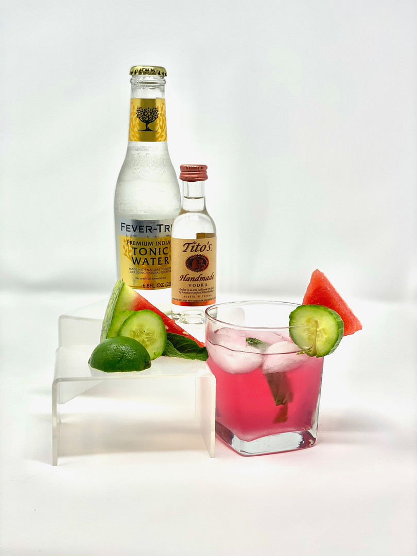 Watermelon Cucumber Cocktail
