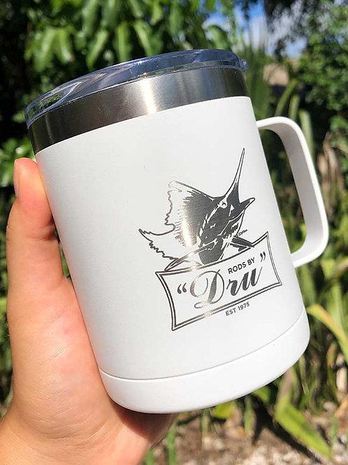 Rods by Dru Coffee Mug White