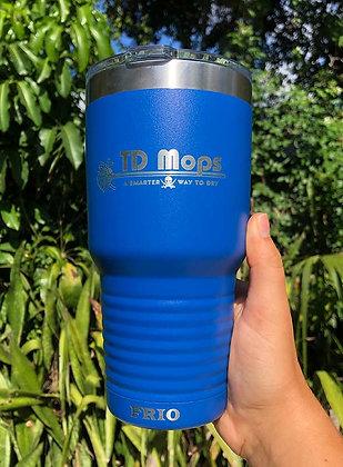 Blue TD Mop Tumbler Front