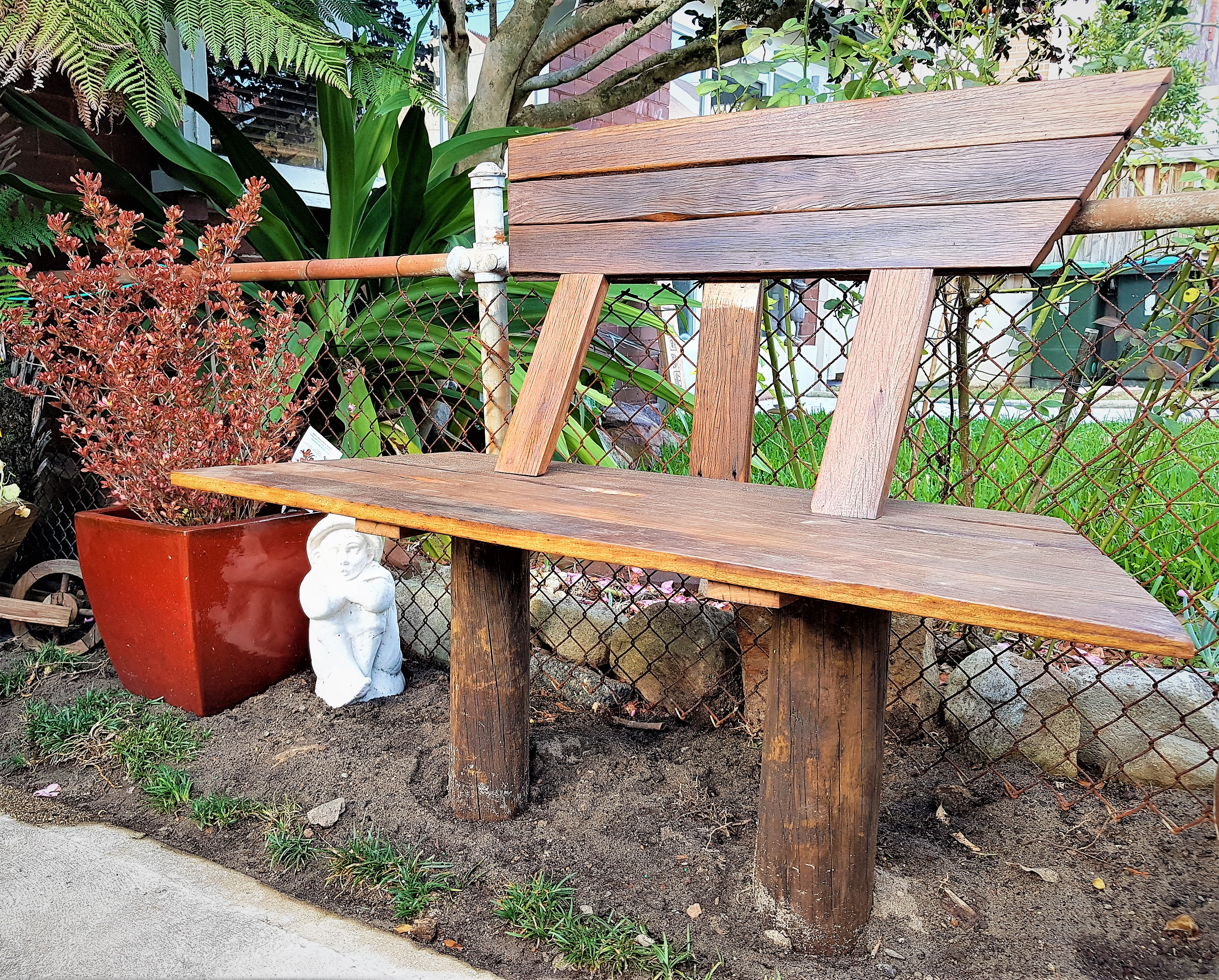 Cj projects garden bench