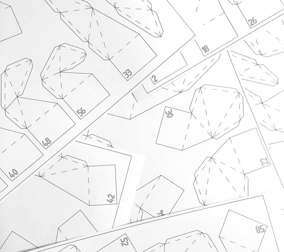 Triangulating Ceiling