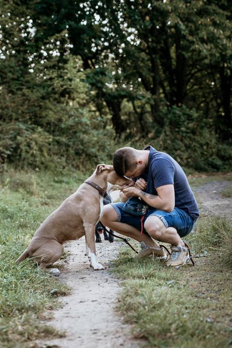 Hund-Mann