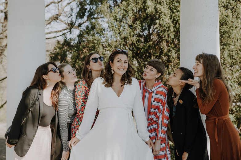Hochzeit-Braut-Frauen