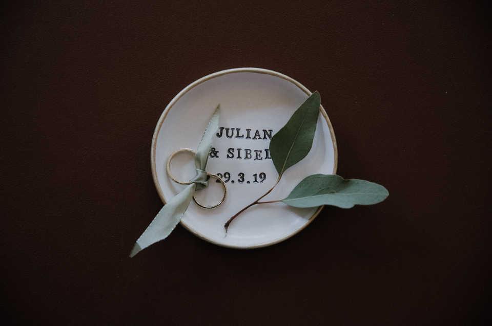 Ringe-Hochzeit-Pflanze