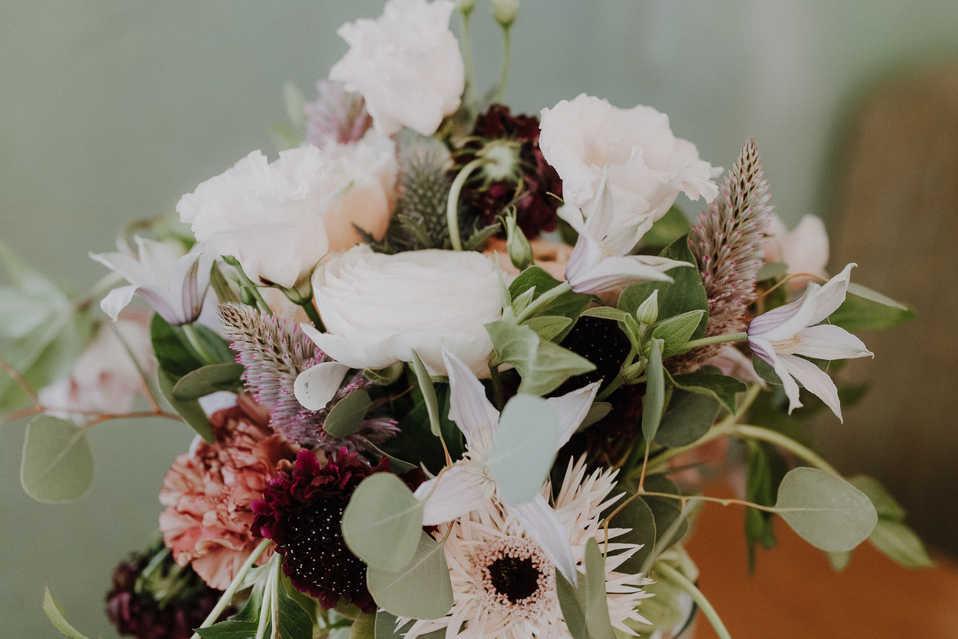 Brautstrauss-Blumen
