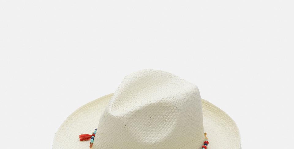Beads~White
