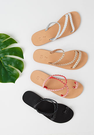 Sandalaki Braids Collection Greek Leather Sandals
