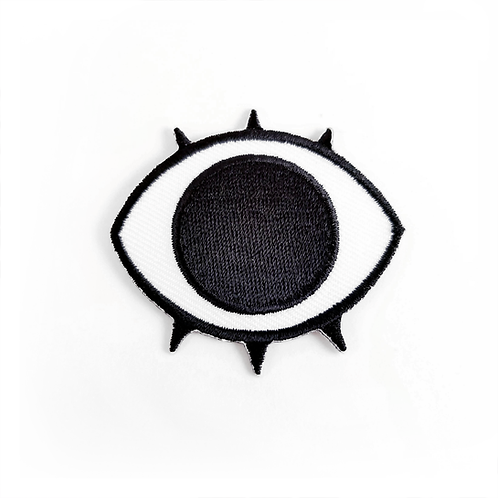 Eyes 'n Teeth Iron-on Patch (Eye)