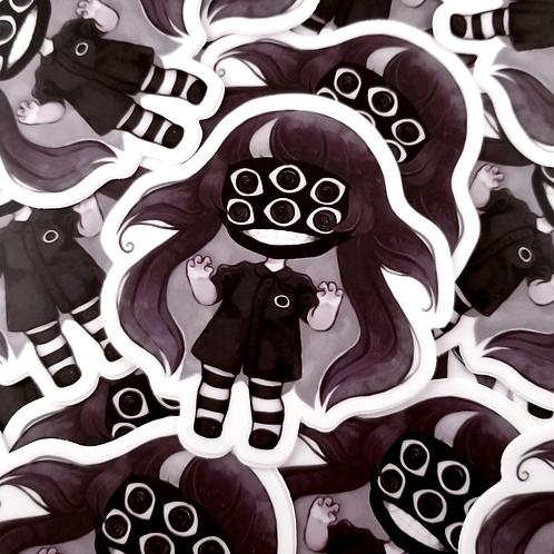 Eyeball Monster Stickers