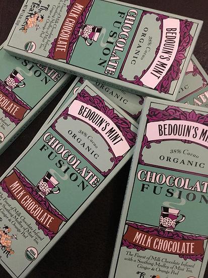 Chocolate de Leche con Bedoun`s Mint