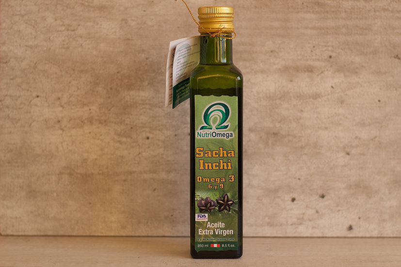 Aceite de Sacha Inchi 250 ml.