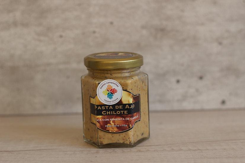 Pasta de ajo con pimienta de canelo 170 gr.