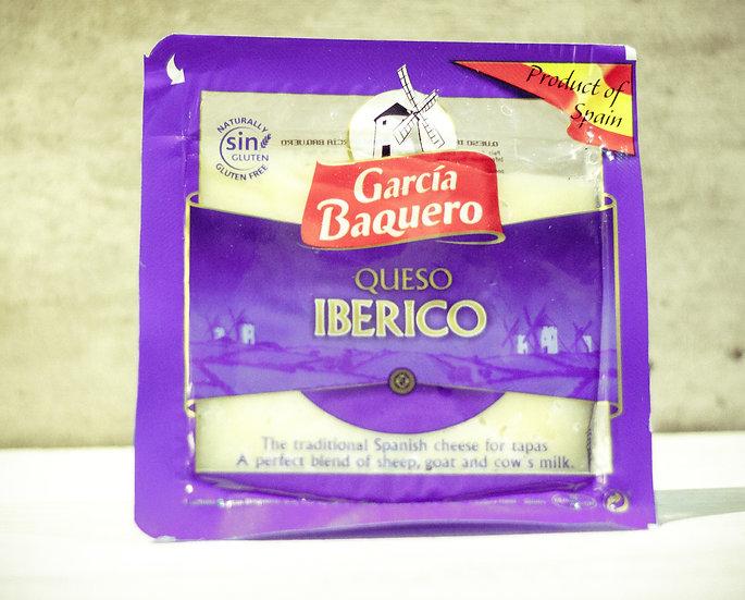 Queso Ibérico semi curado cuña de 150 gr.