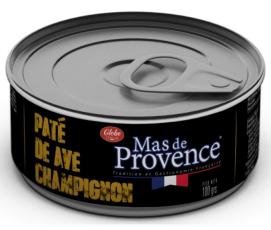 Paté de Ave con Champiñón 100 gr.