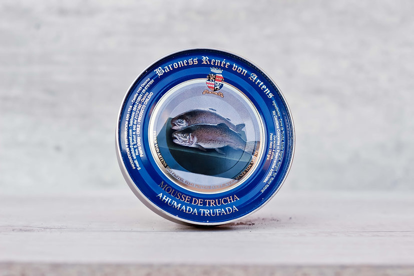 Mousse de Trucha Ahumada Trufada 165 gr.