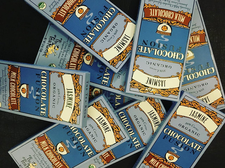 Chocoalete de Leche con Jasmine 51 gr.