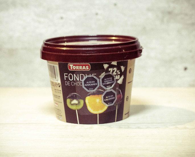Fondue de Chocolate 72% 220 gr.